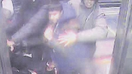 Police want to identify the people shown in this CCTV image.