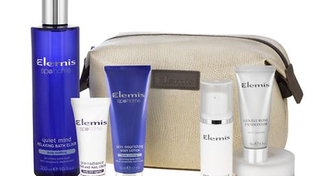 Elemis Time For You Spa and Skincare Collection, £39 (www.timetospa.co.uk). Picture: PA Photo/Handou