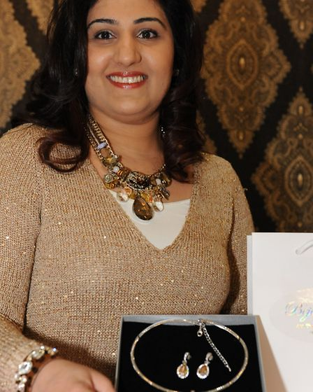 Semina Mogul, owner of Bejewel Me, has won a Local Business Accelerators package of mentoring and fr