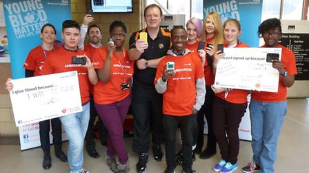 Students at Havering Sixrth Forrm College had a special visit from Lloyd Scott