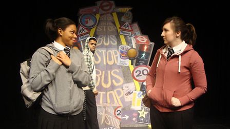 Theatre workshop on traffic safety at Half Moon Young Peoples Theatre