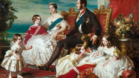 Queen Victoria, Prince Albert and their family. Victoria Road and Albert Road in Romford owe their n
