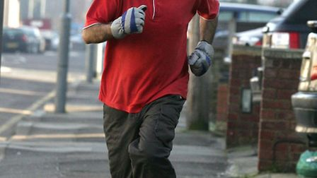 Anil Gupta, from Aves Opticians in Ilford, is running a marathon for Help for Heros.