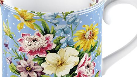 Katie Alice mug, £6, from www.english-table.com and selected garden centres. Picture: PA Photo/Hando