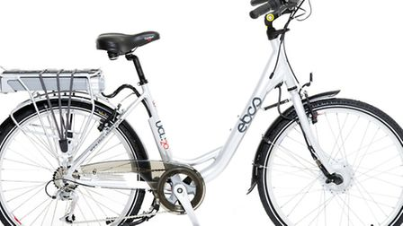 EBCO UCL20 Electric Bike, £899.99, www.halfords.com. Picture: PA Photo/Handout.
