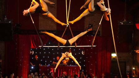 The Midnight Circus is coming to Canary Wharf in March.