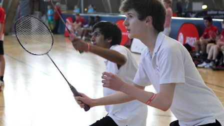 The boys of Rokeby School have made it through to the badminton final of the London Youth Games.