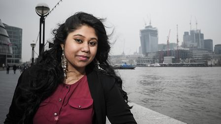 Afsana Benozir, 20, from Bethnal Green hopes to become a doctor after overcoming depression.