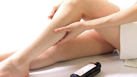 Massaging the thigh area can help reduce cellulite. Picture: PA Photo/thinkstockphotos.
