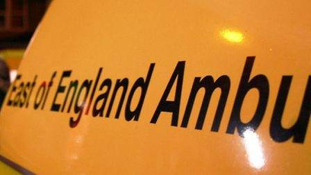 East of England Ambulance Service treated a woman for a fractured foot after she fell from her horse