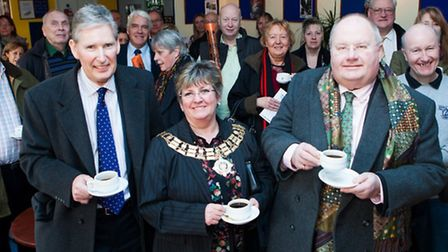 Ian Davies, chairman of the Brentwood Theatre Trust and headmaster of Brentwood School, Mayor of Bre
