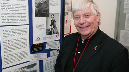 Peter Stewart, business development manager at Havering Museum, oversaw the planning of the Sickness