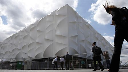 Tthe London 2012 basketball arena which is up for sale for £2.5 million. Picture: Sean Dempsey/PA