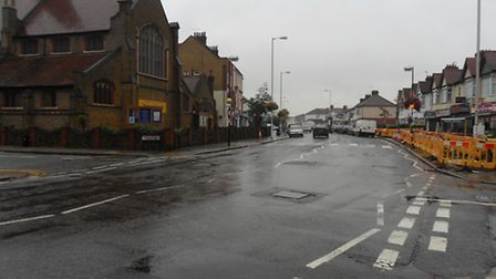 The shooting happened close to Aldborough Road South's junction with Meads Lane and St Johns Road