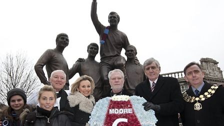 20 years since Bobby Moore England and West Ham Utd Captain died of cancer at the age of 51.Photo