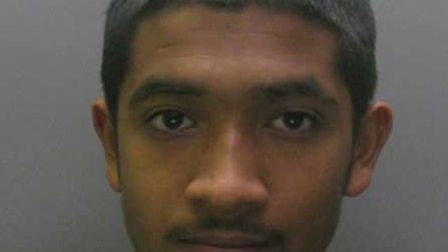 Aminur Rahman, 18, was sentenced to two years in a Young Offenders Institute.