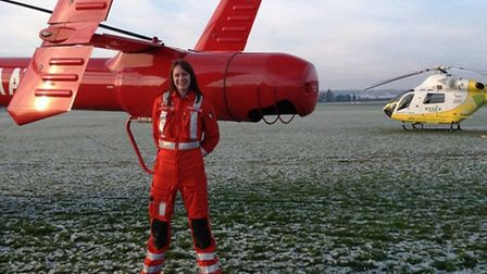 Erica Ley will be trekking for 10 days in Nepal to raise money for Essex and Herts Air Ambulance.