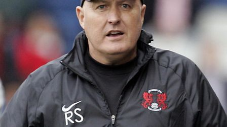 Orient manager Russell Slade saw his side book their place in the second round of the FA Cup Pic: S