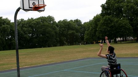 The University of East London's wheelchair sports project has been given £20,000 in funding