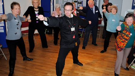 Residents at Havering Museum learned tai chi