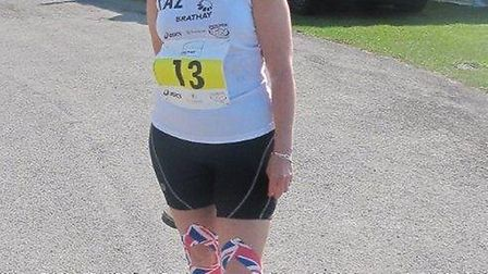 Karen Hurrell during the 10in10 last year