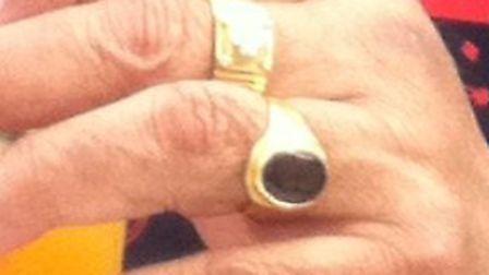 Gold rings were taken from the hands of a 71-year-old man in South Woodford following a violent robb