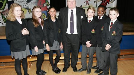 St Martin's School pupils in Brentwood, are taking part in a new theatre performance and workshop wa