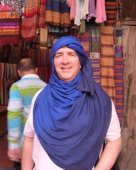 Stephen in Morocco