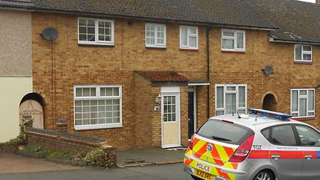 The house in Barnstaple Road where the woman was injured