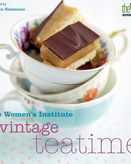 The Women's Institute Vintage Teatime, published by Simon & Schuster, priced £9.99. Available now. Picture: PA Photo/Simon...