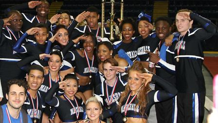 Marshals Cheer and Dance group.