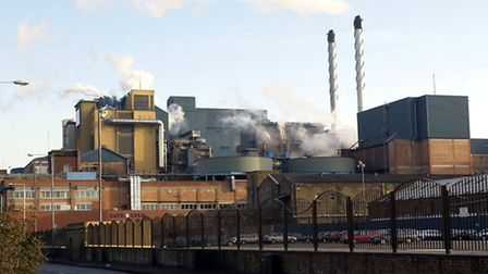 The Tate and Lyle sugar refinery factory in Silvertown