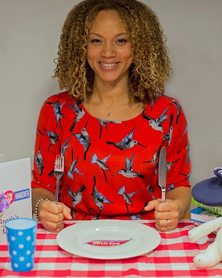 Angela Griffin runs to stay fit. Picture: PA Photo/Handout.