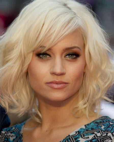 Kimberly Wyatt tries to hit the gym five times a week to maintain her tiny figure. Picture: Joel Rya