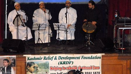 """Nasheed Group """"Shaam"""" performed some nasheeds (Islamic dongs) on the occasion."""