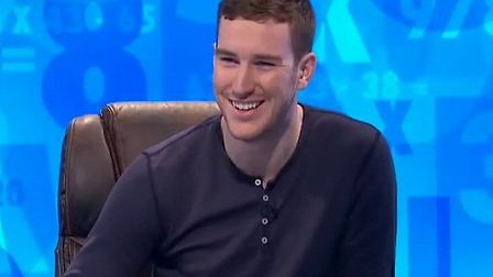 Jonathan O'Neill, 24 from Rainham appeared for a second time in Channel 4's Countdown