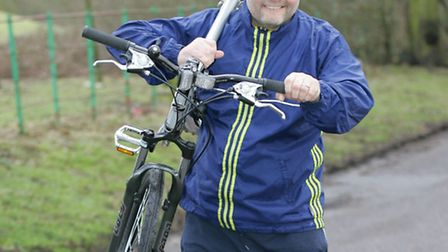 Dave Butler is running and cycling 500 miles for Richard House Children's Hospice