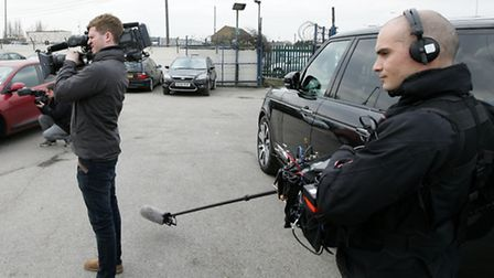 Television cameras have been on set at The Essex Car Company to film a new fly-on-the-wall series fo