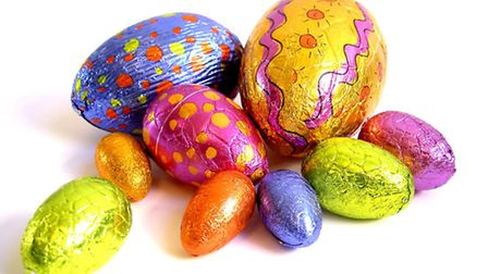 You can donate your extra Easter eggs at the Mercury Mall.