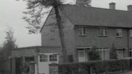The first council home sold to a tenant in Hilldene Avenue, Harold Hill. PICTURE courtesy of www.bri