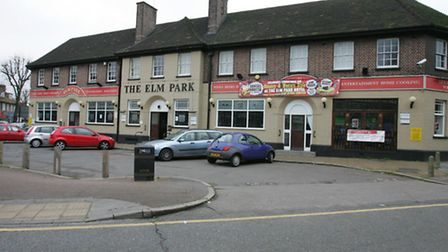 The Elm Park Hotel - the town's first pub
