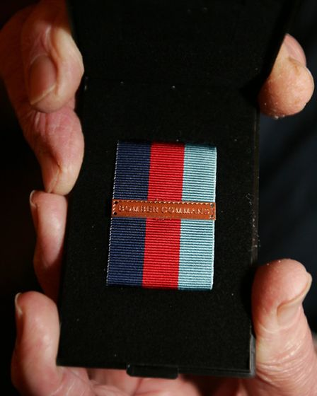 The Bomber Command clasp