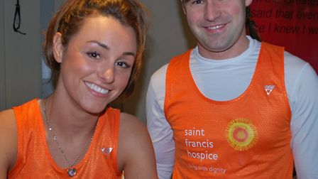 Charlotte and James Borley will be running in the London Marathon in memory of their mum Jacqui.