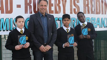 Alex Rider author Anthony Horowitz was the special guest at Rokeby School's Big Read.