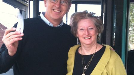 David Kendall and Wendy Way are celebrating after winning a nine-year campaign to get the 498 bus to