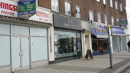 Two lots near to Eaton Hair are currently vacant