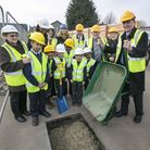 The foundations have been laid for a new state-of-the-art Keir Hardie Primary School,