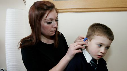 Laura Kellegher is trying to raise £10,000 so that her son Louis can receive pioneering treatment