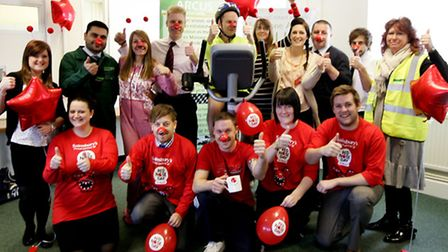 Twenty-five staff who work for Arcus in Upminster, are taking part in a fundraising static cycle cha