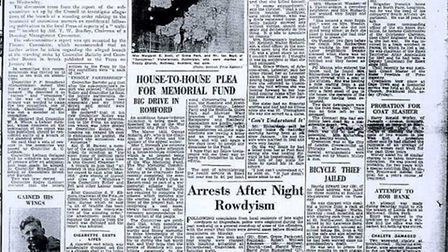 The Recorder front page from March 20, 1953
